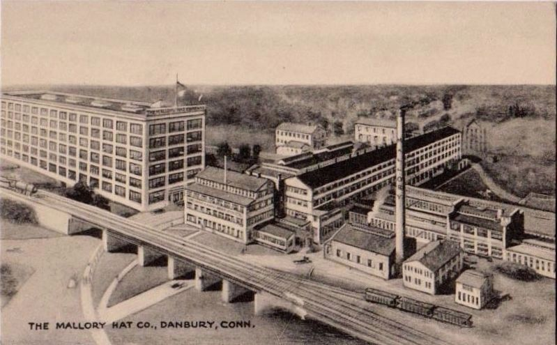 <i>The Mallory Hat Co., Danbury, Conn.</i> image. Click for full size.