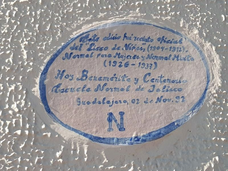 An additional marker on the Ex-Convent of Saint Mary of Grace image. Click for full size.