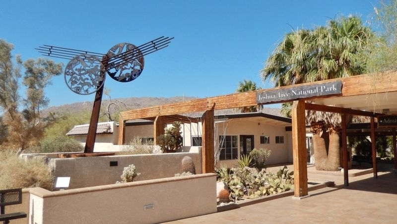 Oasis Visitor Center - Joshua Tree National Park (<i>near marker</i>) image. Click for full size.