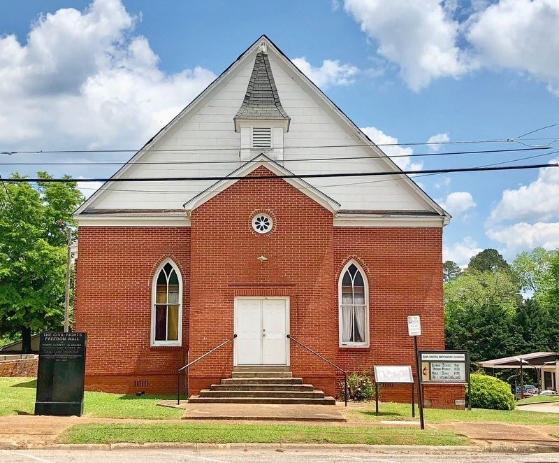 A Seed is Planted on right side of Zion United Methodist Church. image. Click for full size.