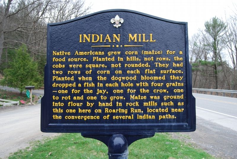 Indian Mill Marker image. Click for full size.