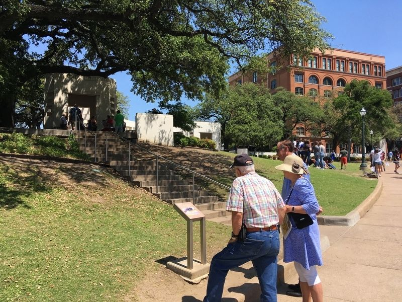 The Grassy Knoll Marker image. Click for full size.