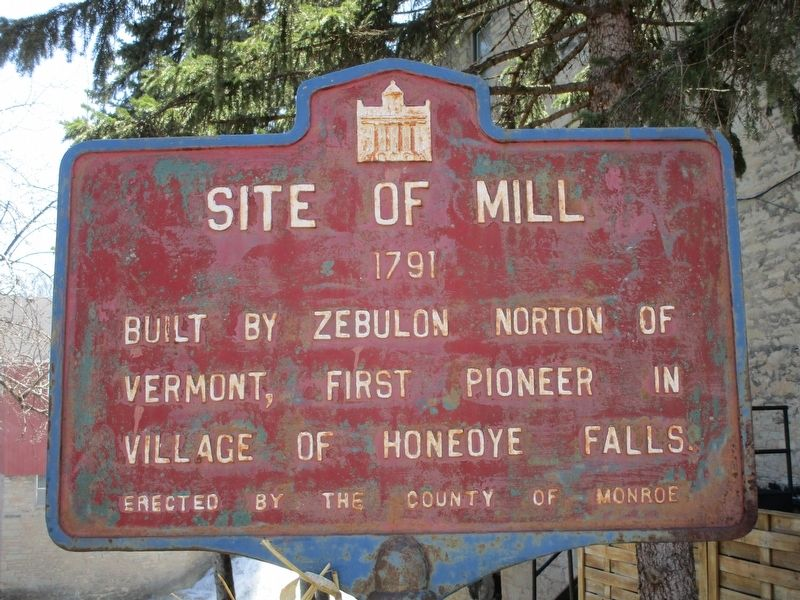Site of Mill Marker image. Click for full size.