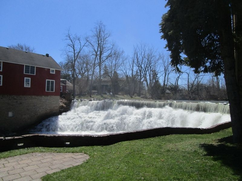 Honeoye Creek Falls image. Click for full size.