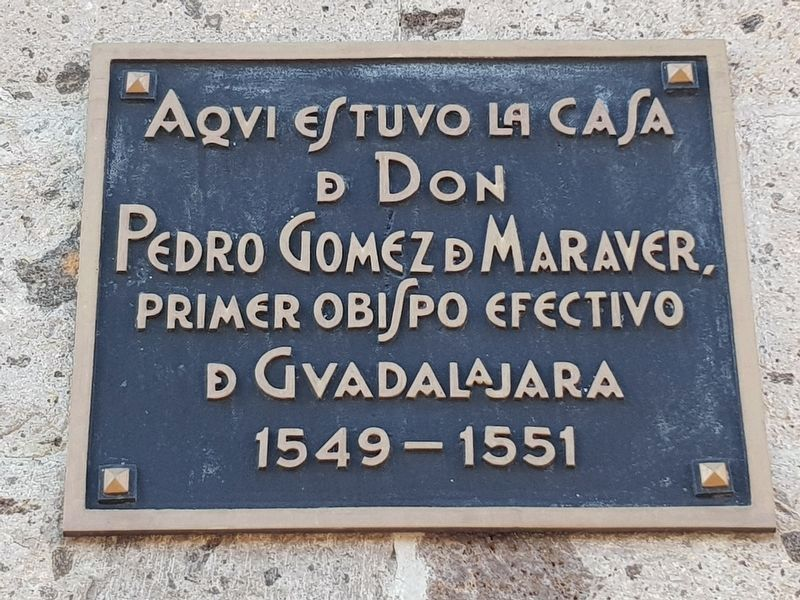 House of Pedro Gómez Maraver Marker image. Click for full size.