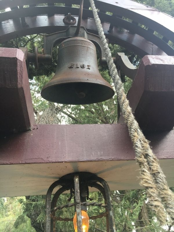 The Santa Margarita Ranch House Bell image. Click for full size.