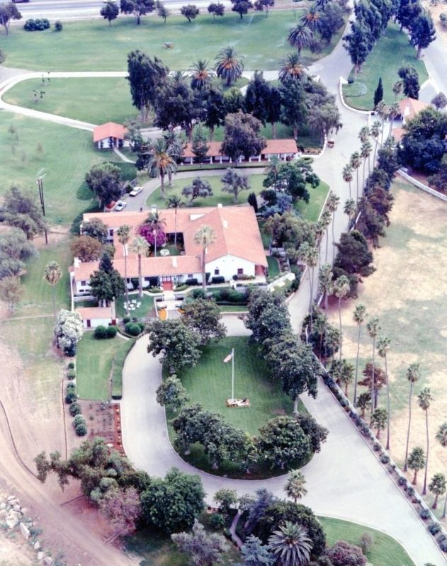 Aerial View of the Santa Margarita Ranch House Complex image. Click for full size.