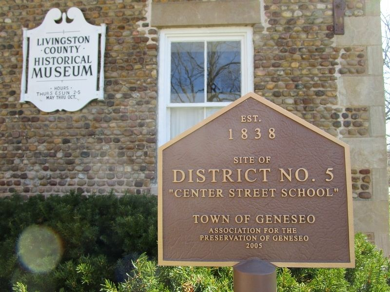 Other Cobblestone School Marker image. Click for full size.