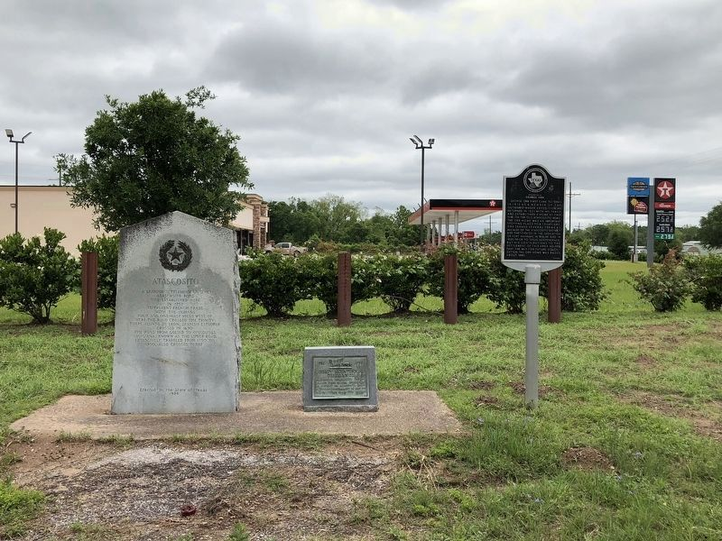 Three Markers Located at Hwy. 146 & FM 1011 image, Touch for more information