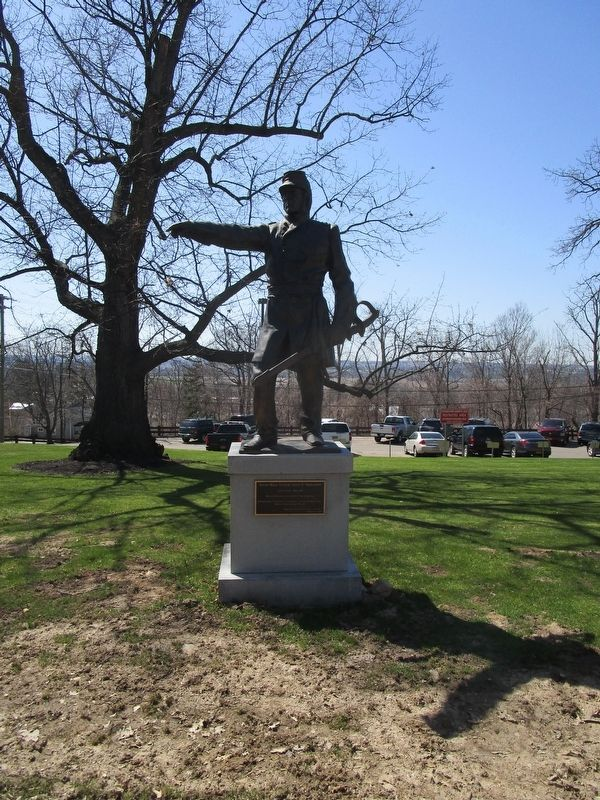 Brevet Major General James S. Wadsworth Monument image. Click for full size.