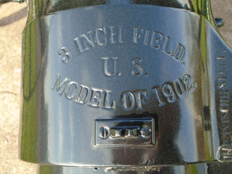 109th Field Artillery Battalion Memorial Gun Detail image. Click for full size.