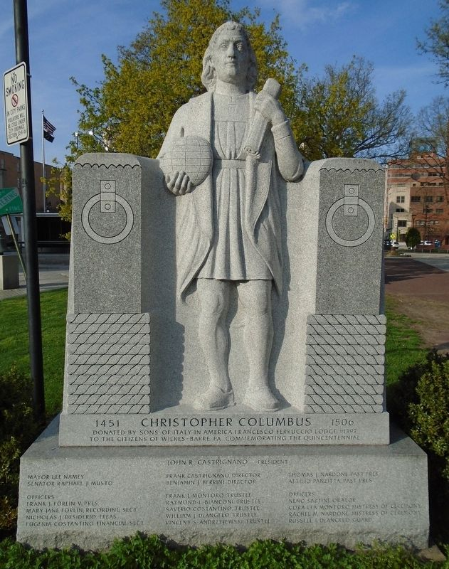 Christopher Columbus Quincentennial Monument image. Click for full size.