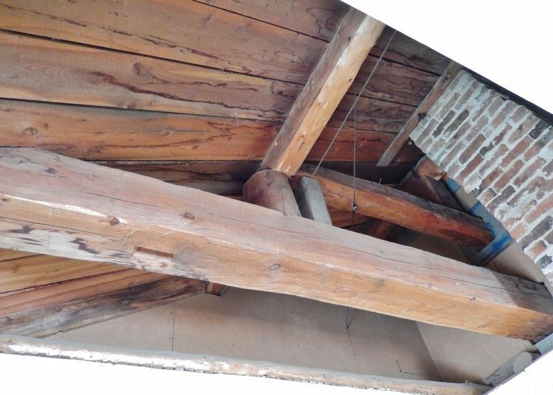 "Location of Sarah's Trap Door to View Hangman's Beam (<i>inside ""Hangman's Building""</i>) image. Click for full size."