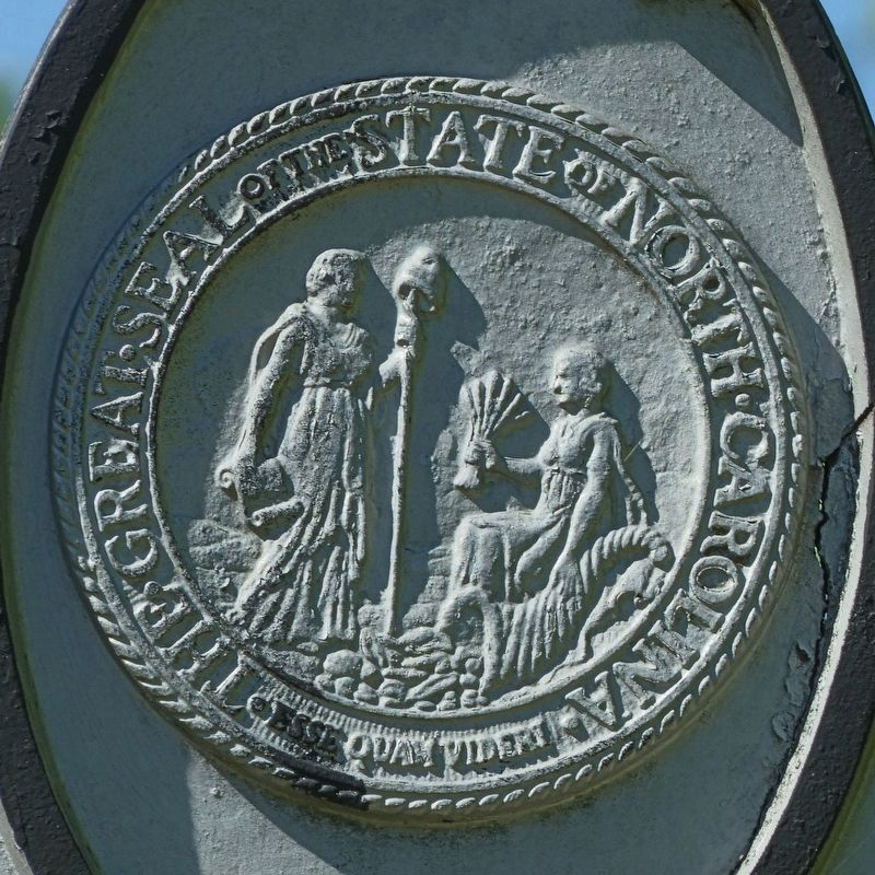 The Great Seal of the State of North Carolina<br>Esse Quam Videri image. Click for full size.