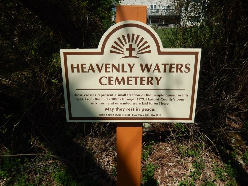 Heavenly Waters Cemetery Marker image. Click for full size.