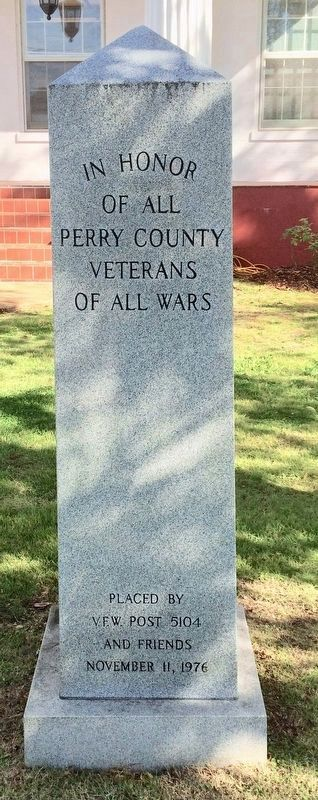 Perry County Veterans Memorial image. Click for full size.