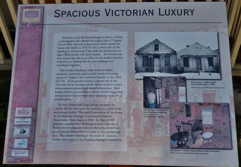Spacious Victorian Luxury Marker image. Click for full size.