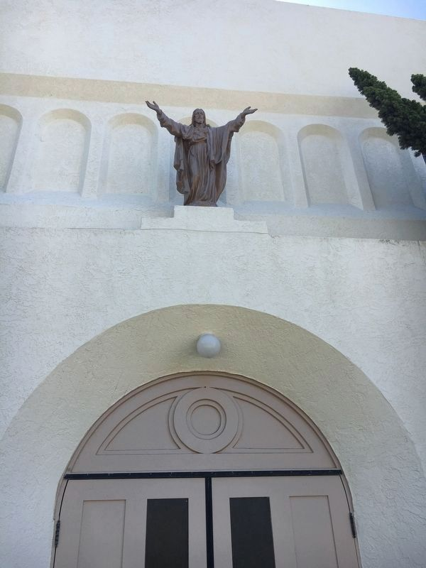 View of Sacred Heart Church Front Entrance image. Click for full size.