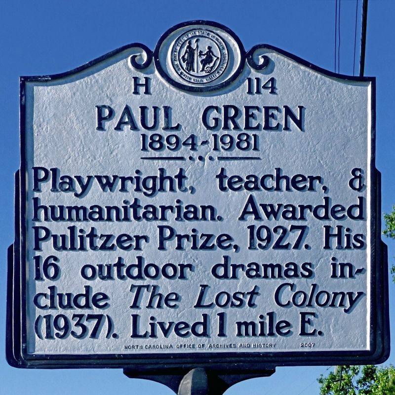 Paul Green Marker image. Click for full size.