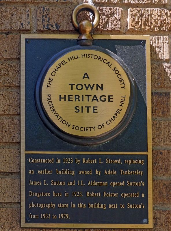 Strowd Building Marker image. Click for full size.