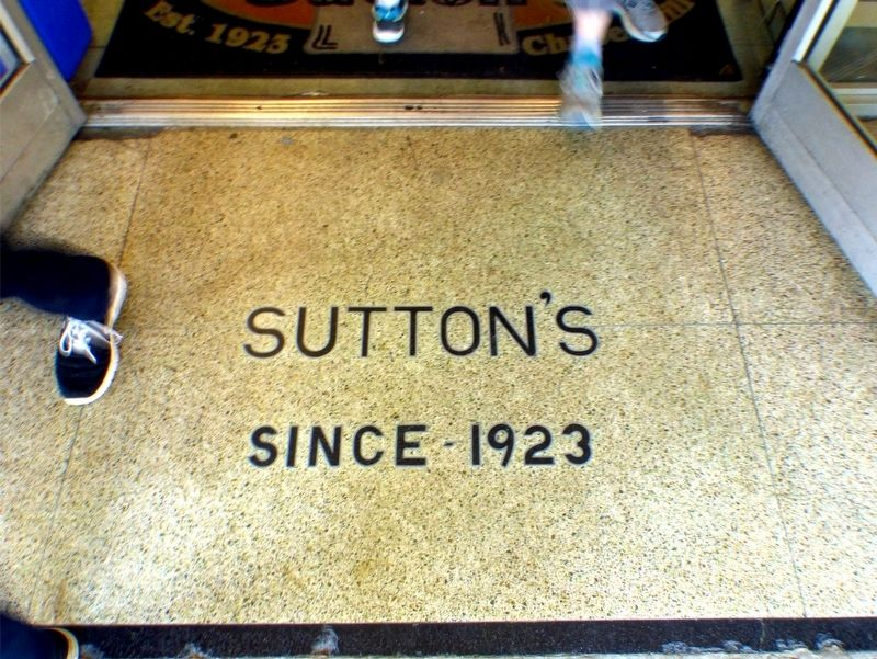 Sutton&#39;s<br>Since 1923 image. Click for full size.