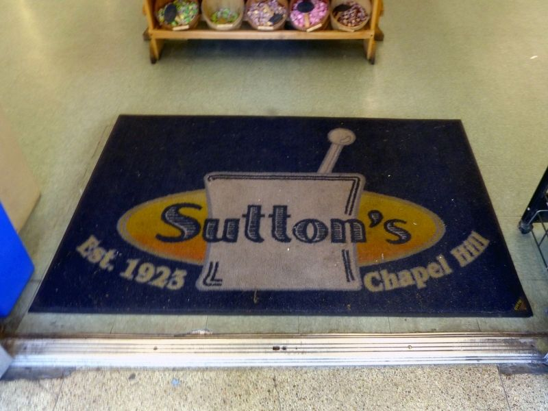 Sutton&#39;s<br>Est. 1923<br>Chapel Hill image. Click for full size.