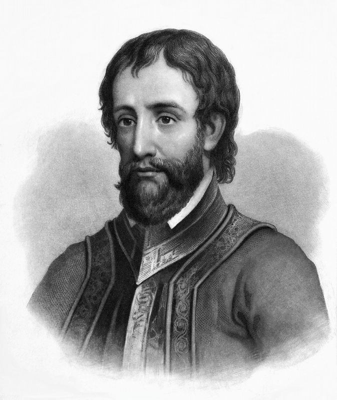Hernando de Soto (c. 1495 – May 21, 1542) image. Click for full size.
