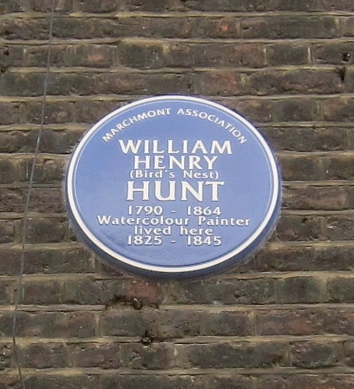 William Henry Hunt Marker image. Click for full size.
