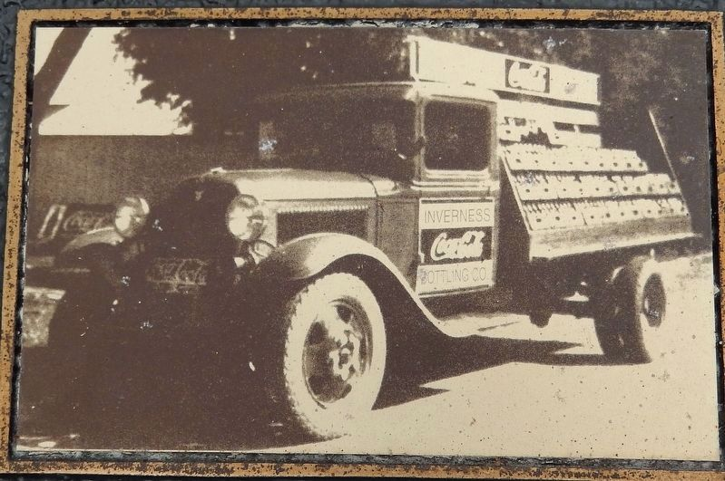 Marker detail: Vintage Coca-Cola Delivery Truck image. Click for full size.