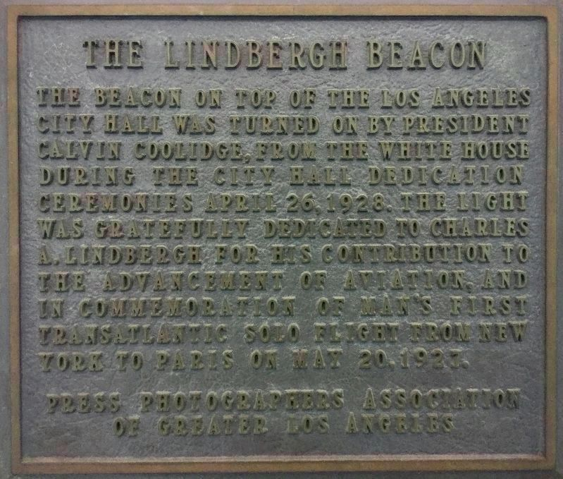 Lindbergh Beacon Marker image. Click for full size.