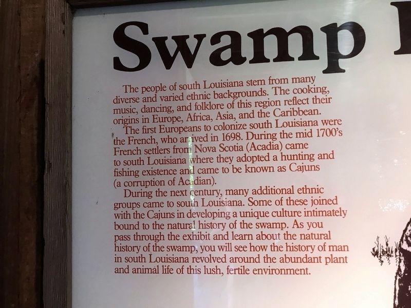 Swamp People Marker image. Click for full size.