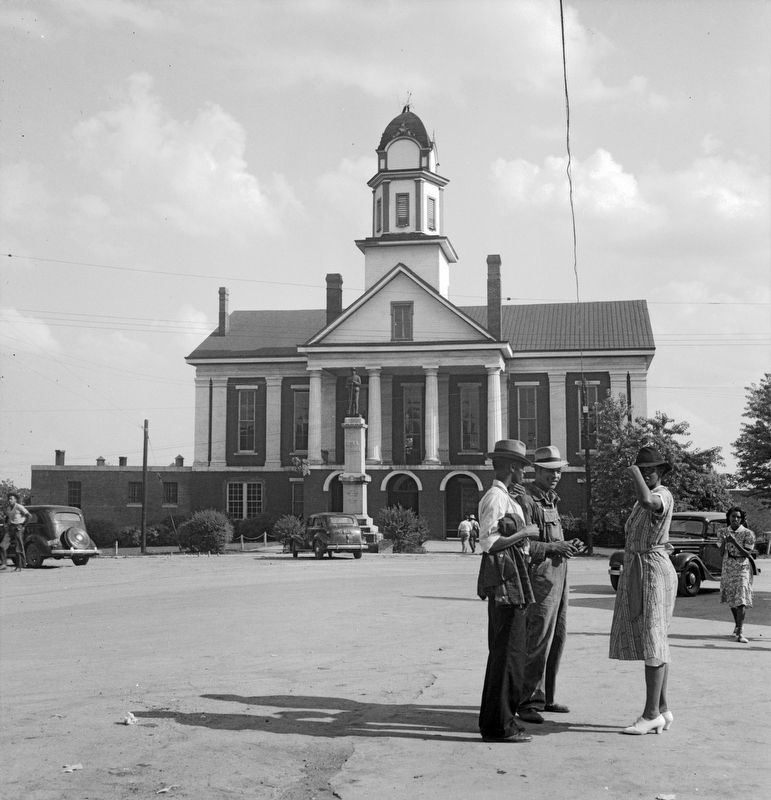 Chatham County Courthouse<br>1939 image. Click for full size.