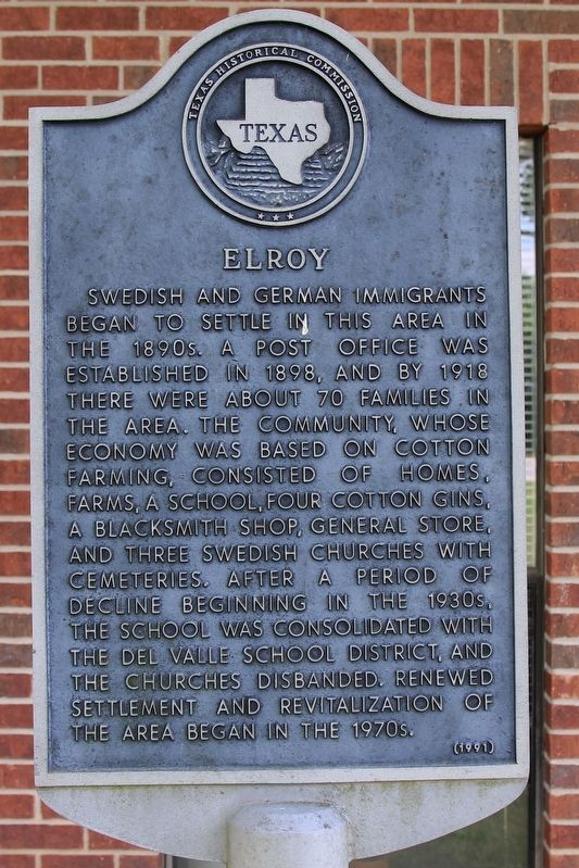 Elroy Marker image. Click for full size.