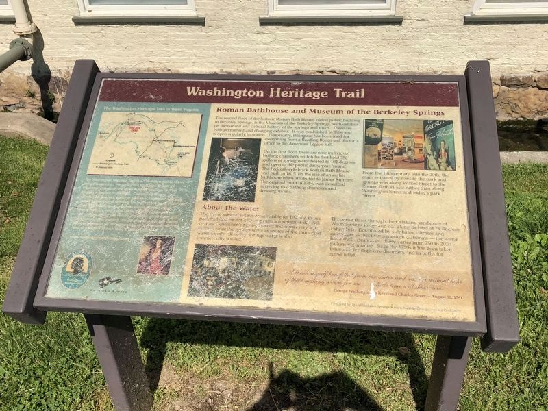 Washington Heritage Trail Marker image. Click for full size.