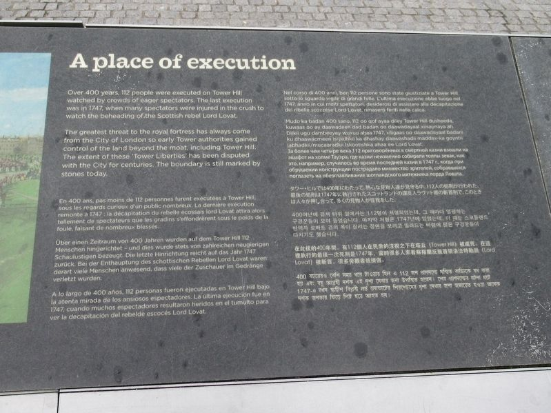 A place of execution Marker image. Click for full size.
