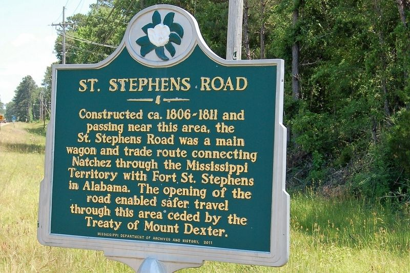 St. Stephens Road Marker image. Click for full size.