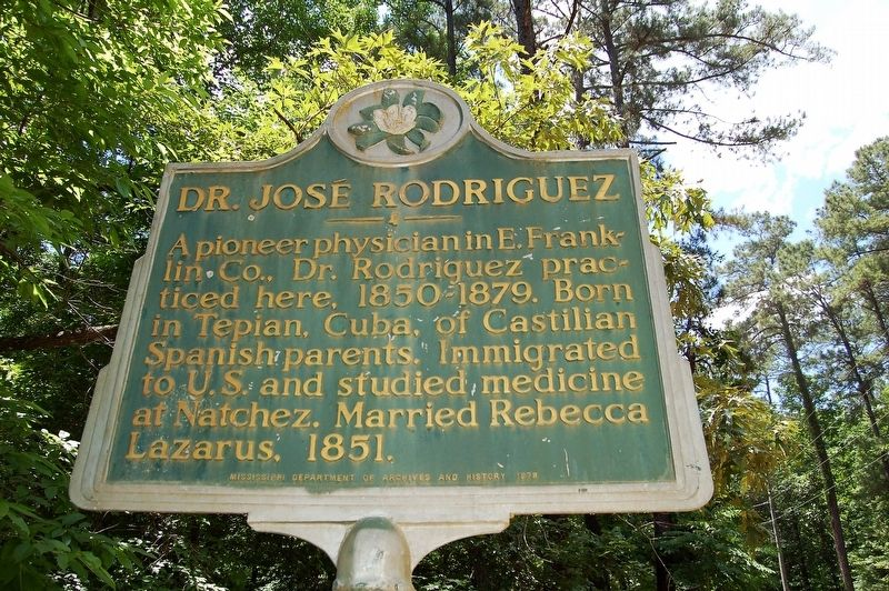 Dr. José Rodriguez Marker image. Click for full size.