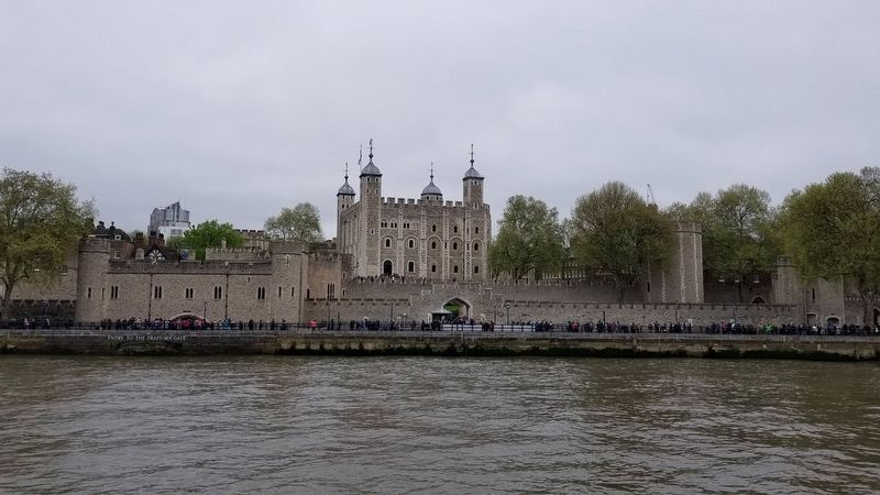 The Tower of London from the River Thames image. Click for full size.