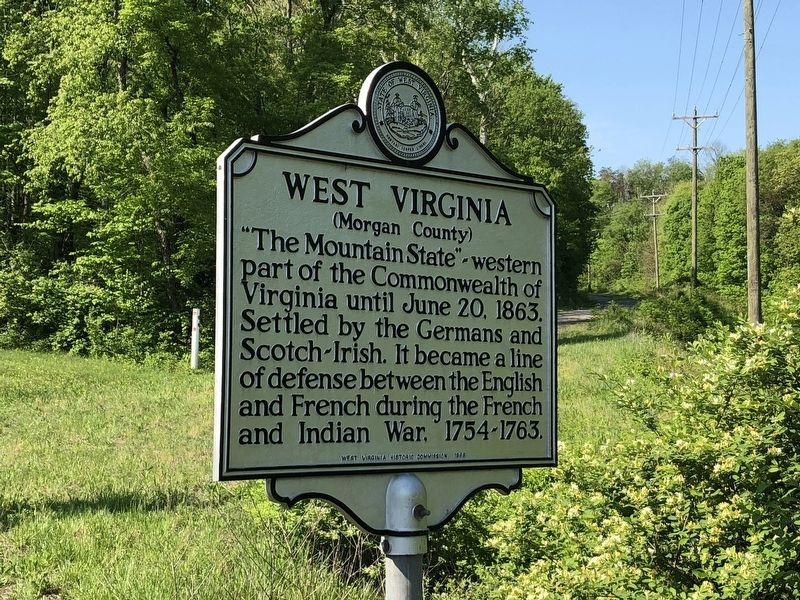 West Virginia Marker image. Click for full size.