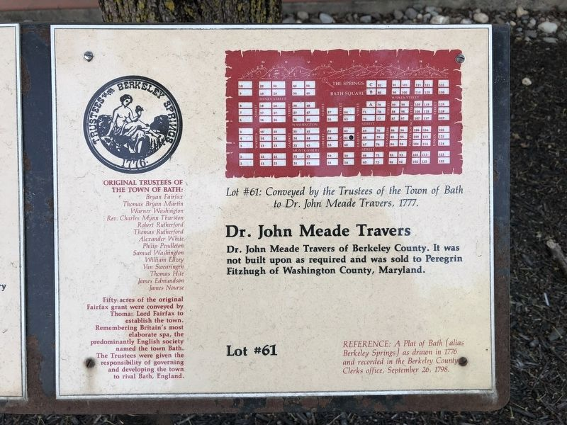 Dr. John Meade Travers image. Click for full size.