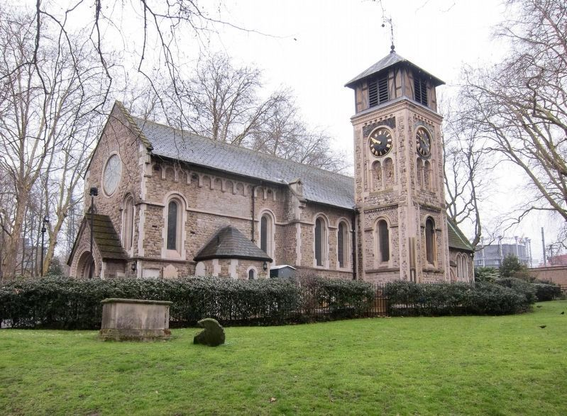 St. Pancras Old Church image. Click for full size.
