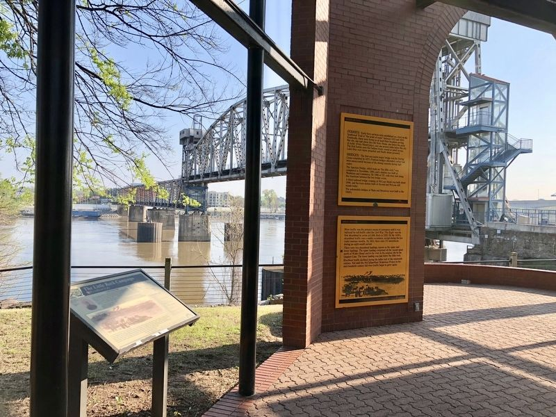 View of the Junction Bridge in background. image. Click for full size.