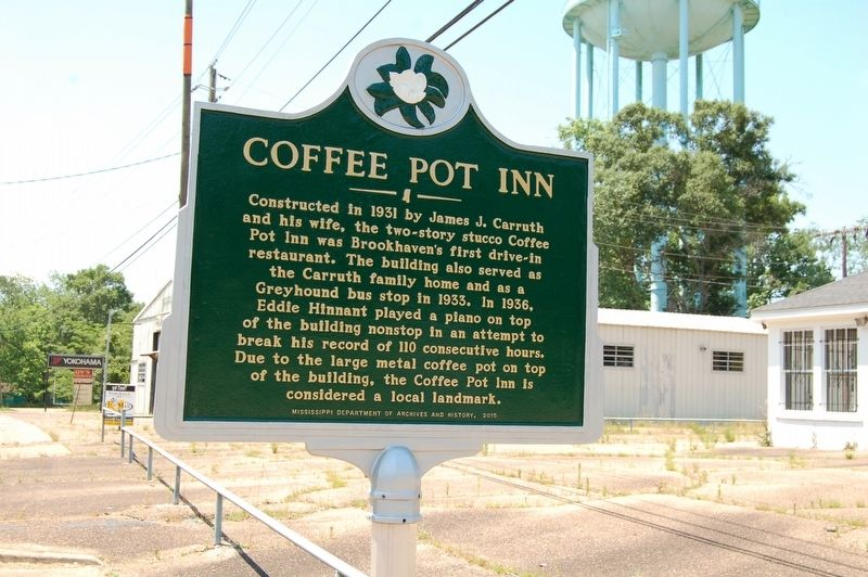 Coffee Pot Inn Marker image. Click for full size.