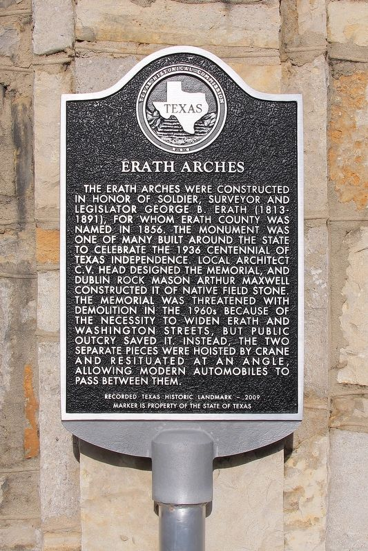Erath Arches Marker image. Click for full size.