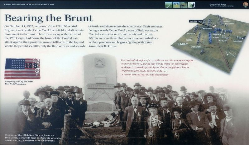 Bearing the Brunt Marker image. Click for full size.