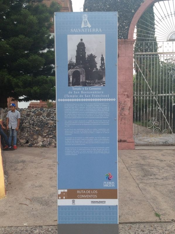 Church and Former Convent of San Buenaventura Marker image. Click for full size.