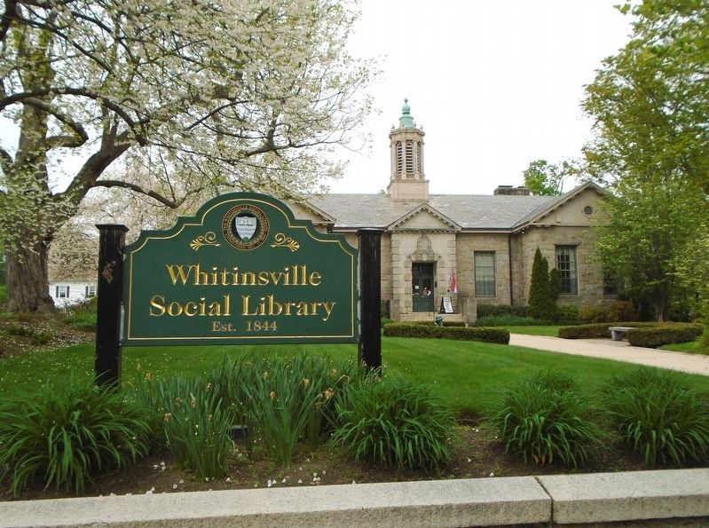 Whitinsville Social Library image. Click for full size.