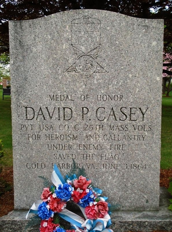 David P. Casey Monument image. Click for full size.