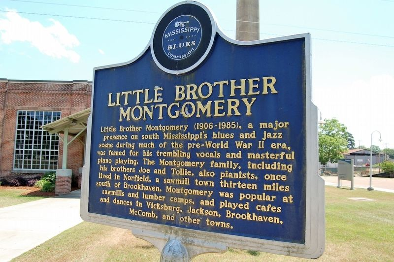 Little Brother Montgomery Marker image. Click for full size.