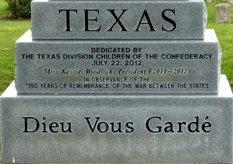 Texas Marker image. Click for full size.